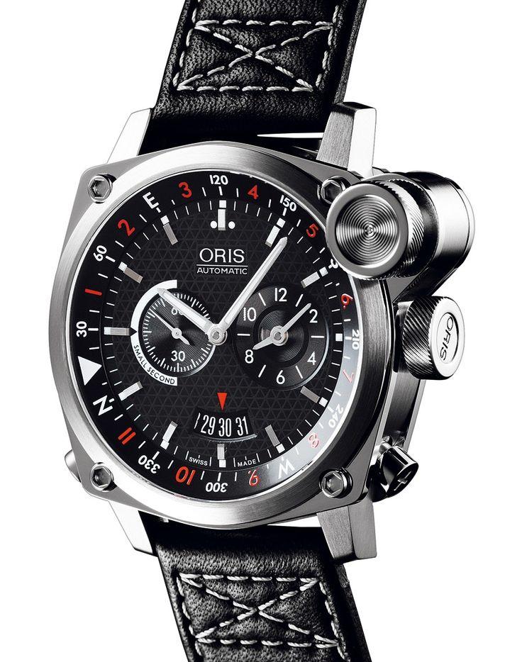 Oris | BC4 Flight Timer | Edelstahl | Uhren-Datenbank watchtime.net
