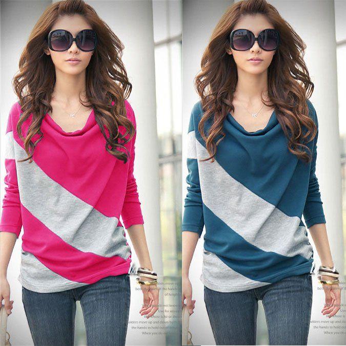 19 best Casual Women T-shirt Blouse Tops images on Pinterest ...