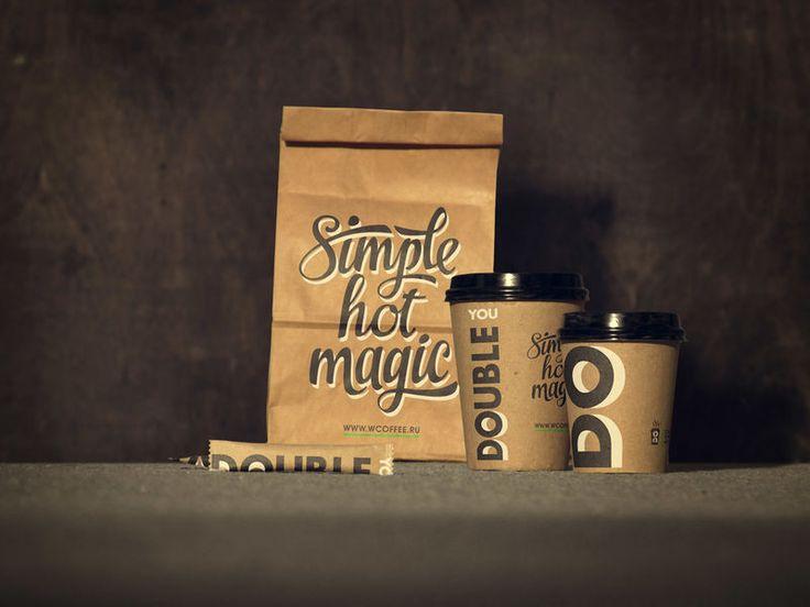 This Simple Coffee Branding Identity is Simple Yet Striking #coffee trendhunter.com