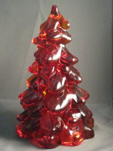 Large Ruby Red Glass Christmas Tree H... (bestseller)