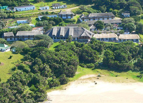 Mazeppa Bay Hotel right on the Wild Coast of South Africa. Full Board or self-catering accommodation available.