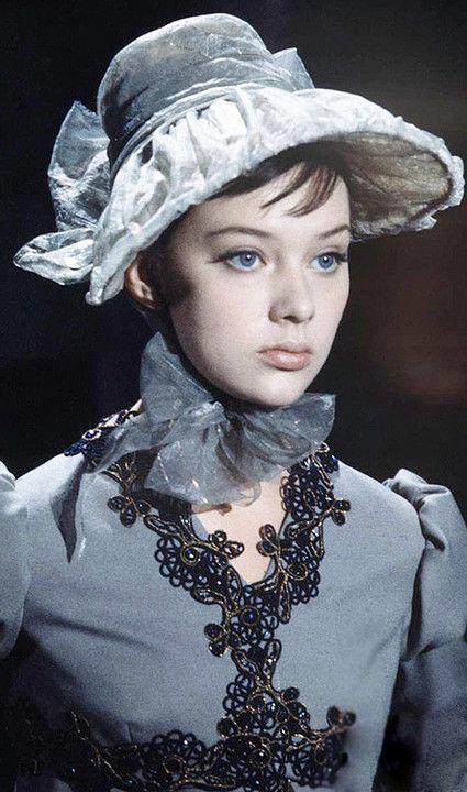 Russian actress Ludmila Savelieva, circa 1967
