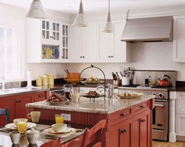 Kitchen On Pinterest Craftsman Cabinets And Colored Kitchen
