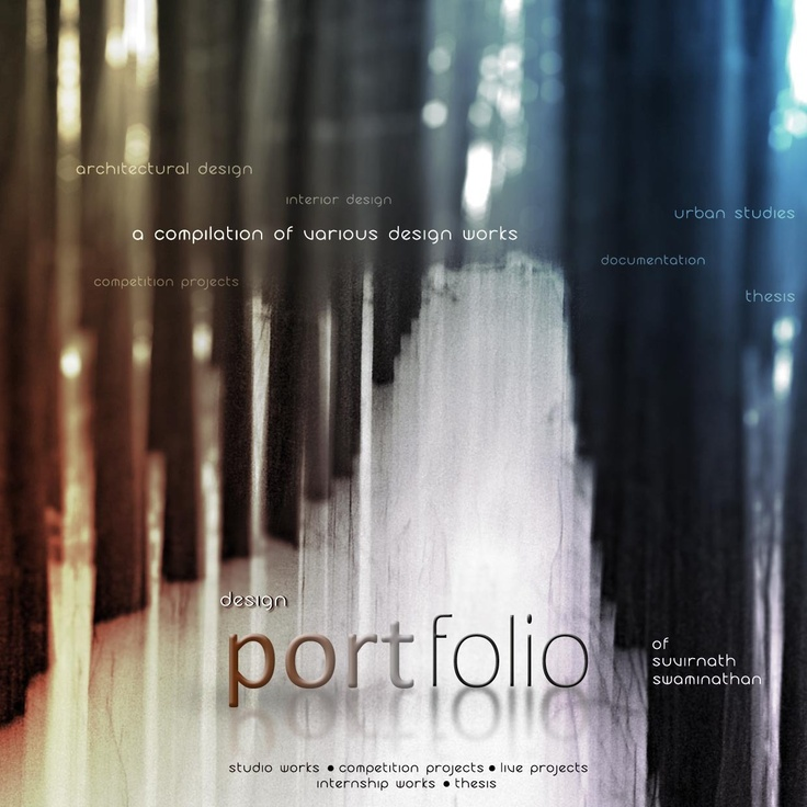 1000 Ideas About Architecture Portfolio Examples On