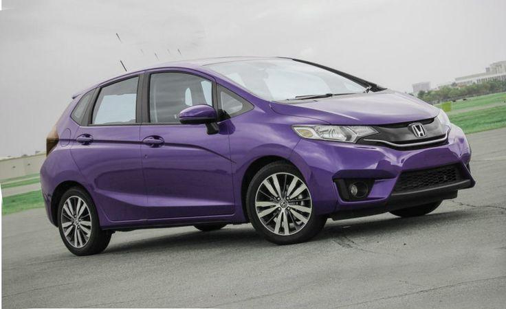 2015 Honda Fit Ex Purple