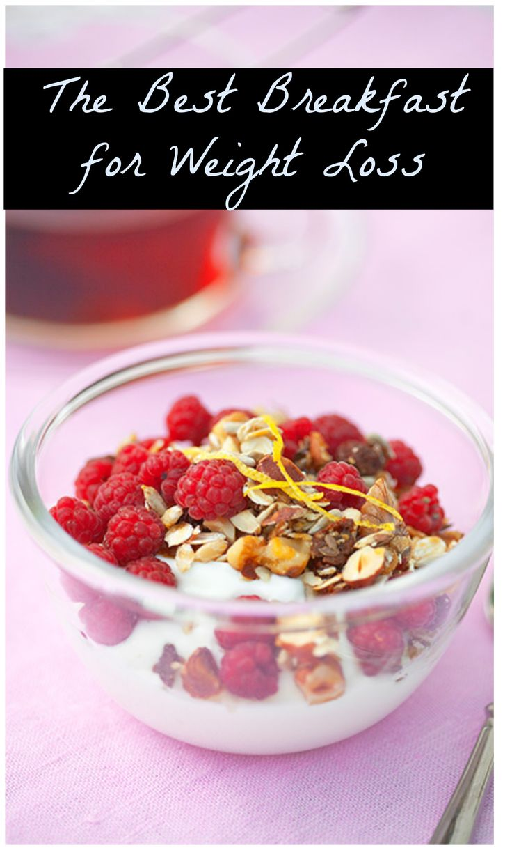 The Best Breakfast for Weight Loss