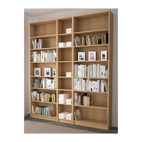 billy biblioth que brun plaqu fr ne 200 x 237 x 28 cm librairie pinterest bibliotheque. Black Bedroom Furniture Sets. Home Design Ideas