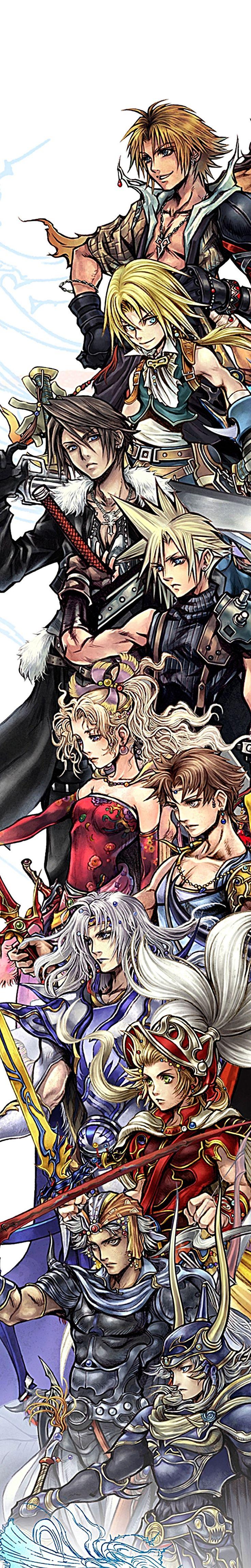 I ❤️ final fantasy!!  Final Fantasy - Dissidia / Fight / RPG / Playstation / Villains Heroes / Videogame Like us on Facebook https://www.facebook.com/hugegamezone