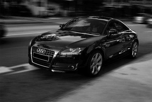 Audi TT - Black...This baby will be mine!!! Black on black on black!!! ;)
