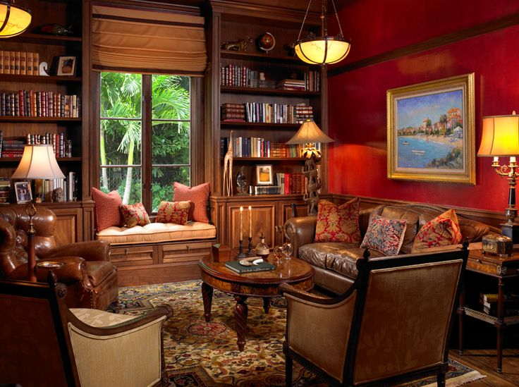 Library Office Valerie M Interiors Home Decor Pinterest Home Libraries And Home