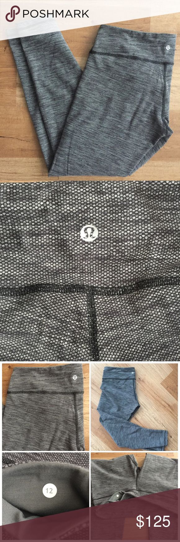 LuluLemon Wunder Under Coco Pique Pant - Size 12 In PERFECT condition. Never worn size 12 LuluLemon Wunder Under Coco Pique pants. Older thicker Lulu Luon and super soft! Has reflective Lulu logo and hidden pocket at the waist. Perfect for colder weather. No pilling, marks, or signs of wear. No trades, no model. *Going for $163 on ebay* No longer sold in stores. lululemon athletica Pants Track Pants & Joggers