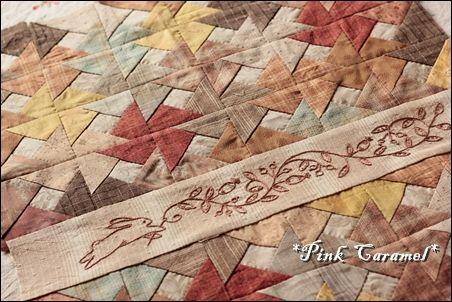 "Patchwork *Pink Caramel*: Free Pattern ""Wind Mill"""