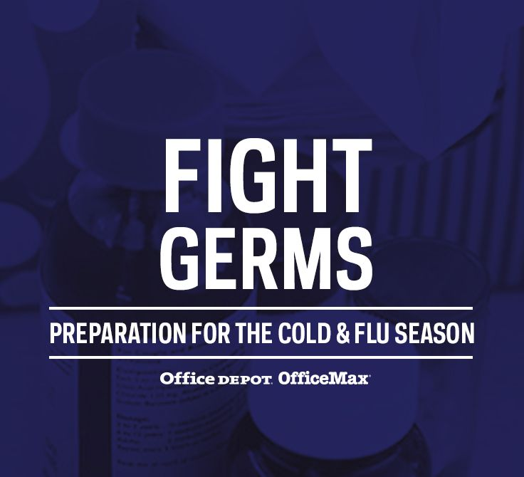 Statistics compiled by the National Business Group on Health show billions of dollars in lost productivity from the flu alone. Fight germs this season!