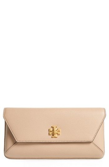 9418539ba4 Tory Burch Kira Leather Envelope Clutch in 2019 | Women's Designer ...