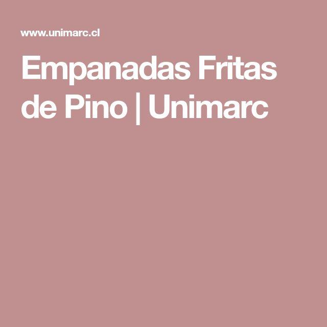 Empanadas Fritas de Pino |  Unimarc