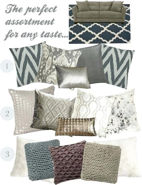 Shop for throw pillows   gray in decor at walmart and save. Gray Couch Pillows Grey Couch Accent Pillows   Living room ...