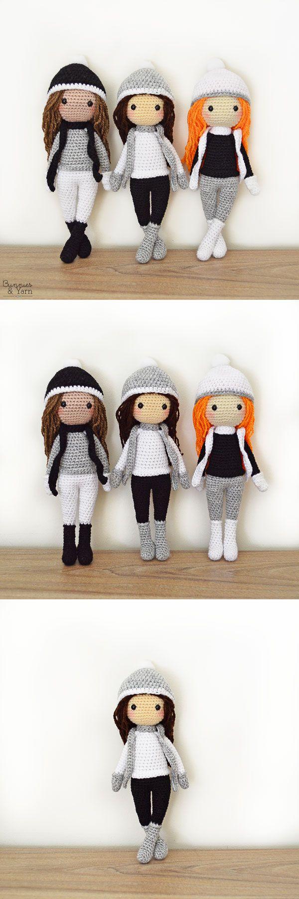 2344 best Amigurumi images on Pinterest | Crochet dolls, Crochet ...