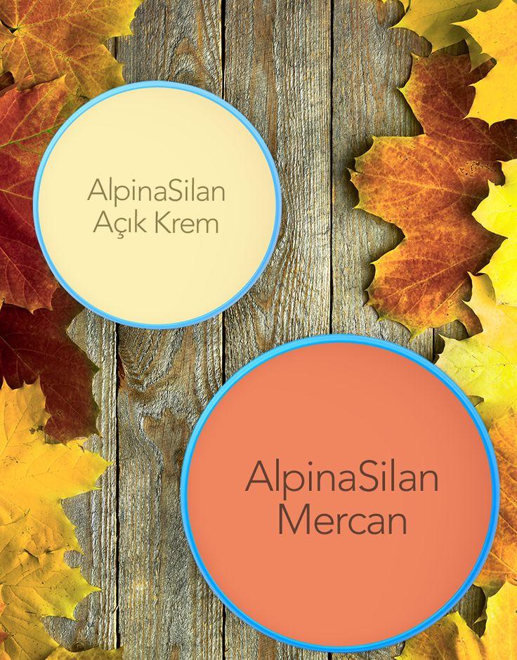 Sonbaharın sıcaklığını ve enerjisini AlpinaSilan ile yaşam alanlarınıza taşıyın! #AlpinaSilan