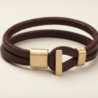 Tanner Leather Goods Leather Bracelets for Men | Cool Material