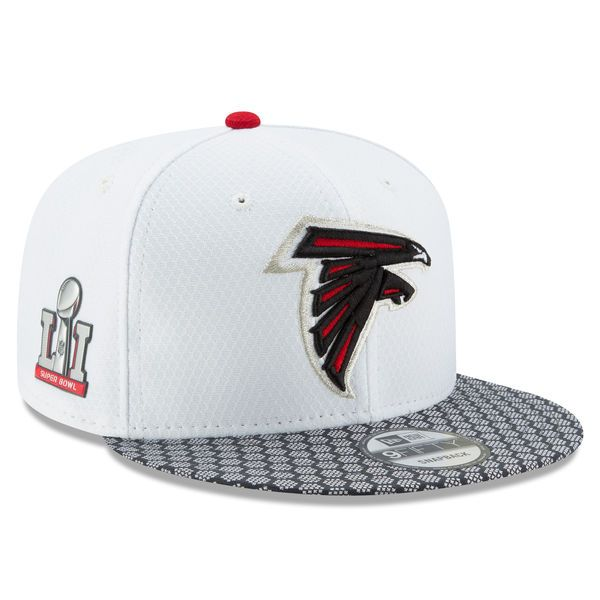 Atlanta Falcons New Era Super Bowl LI Opening Night 9FIFTY Snapback Adjustable Hat - White - $29.99