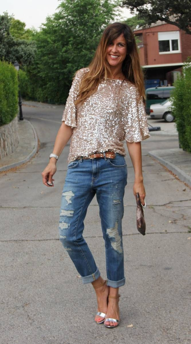 total look: boyfriend jeans (II parte). | mytenida en stylelovely.com