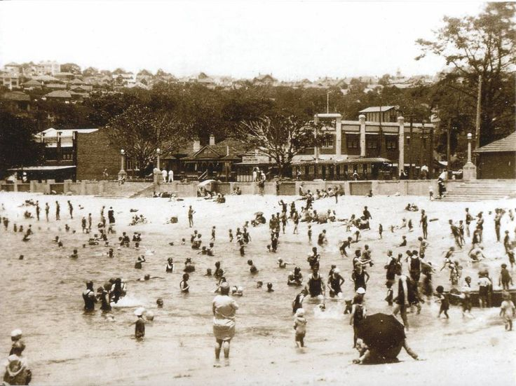 The Hunter beach end of Balmoral beach c. 1930