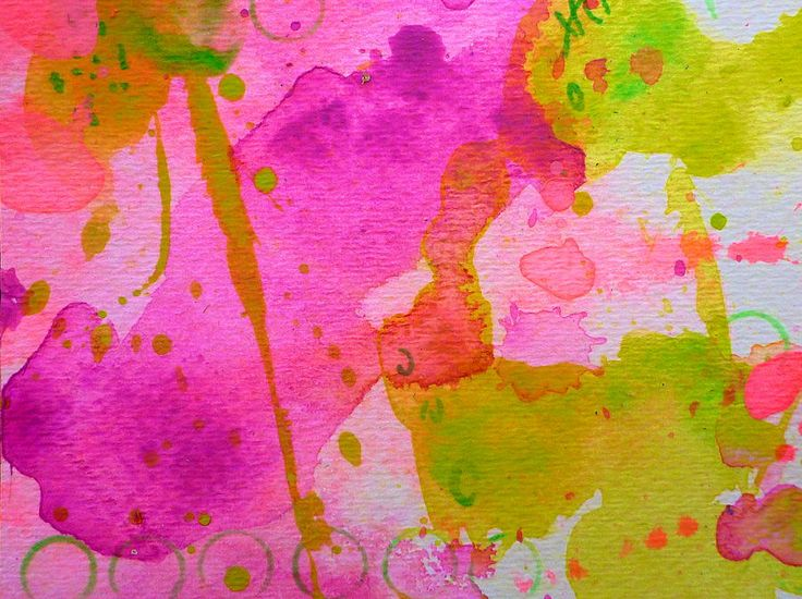 Make Your Own Ending by Tracy Bonin abstract art, abstract painting, paper, breast cancer awareness, pink, green, yellow, purple, home decor, contemporary art, modern art