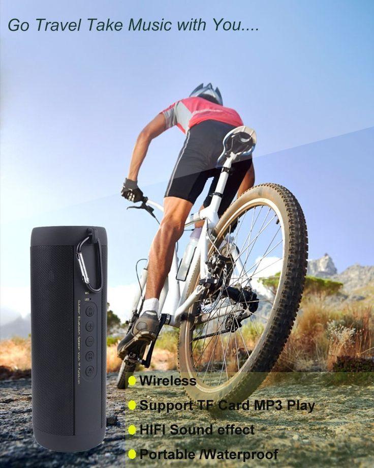 Best Wireless Bluetooth Waterproof Portable Outdoor Mini Bicycle Speaker