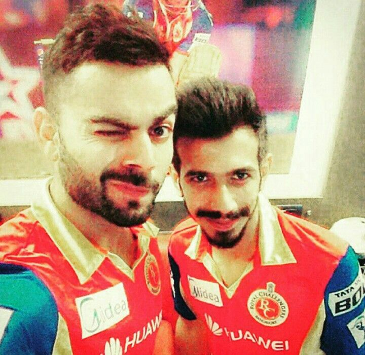 Vk with chahal