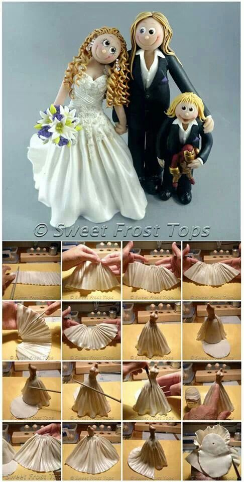 0e324ee804cc66c5243fd8bf3982dc48.jpg (486×960)--a couple of tutorials for bride & groom on Sweet frost tops facebook page