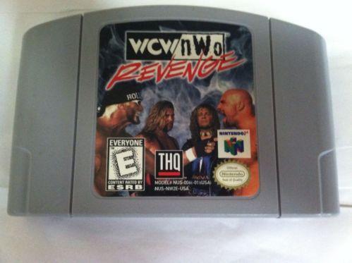 Nintendo 64 WCW NWO Revenge