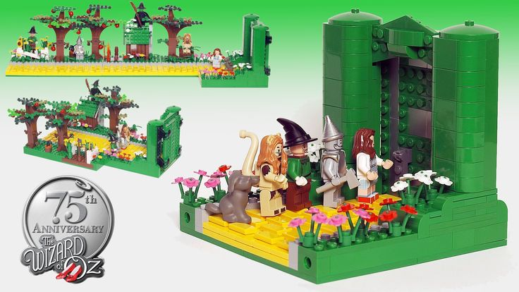 Wizard of Oz Lego - I need these