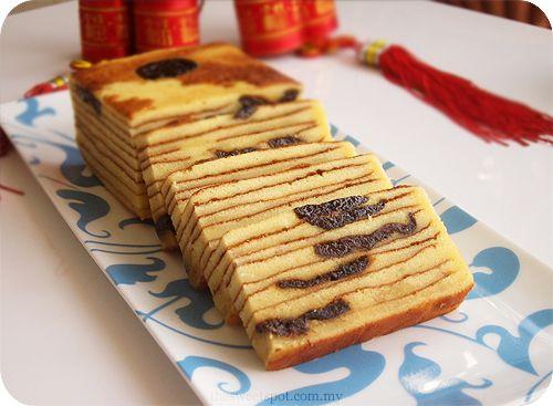 Indonesian Prune Layer Cake