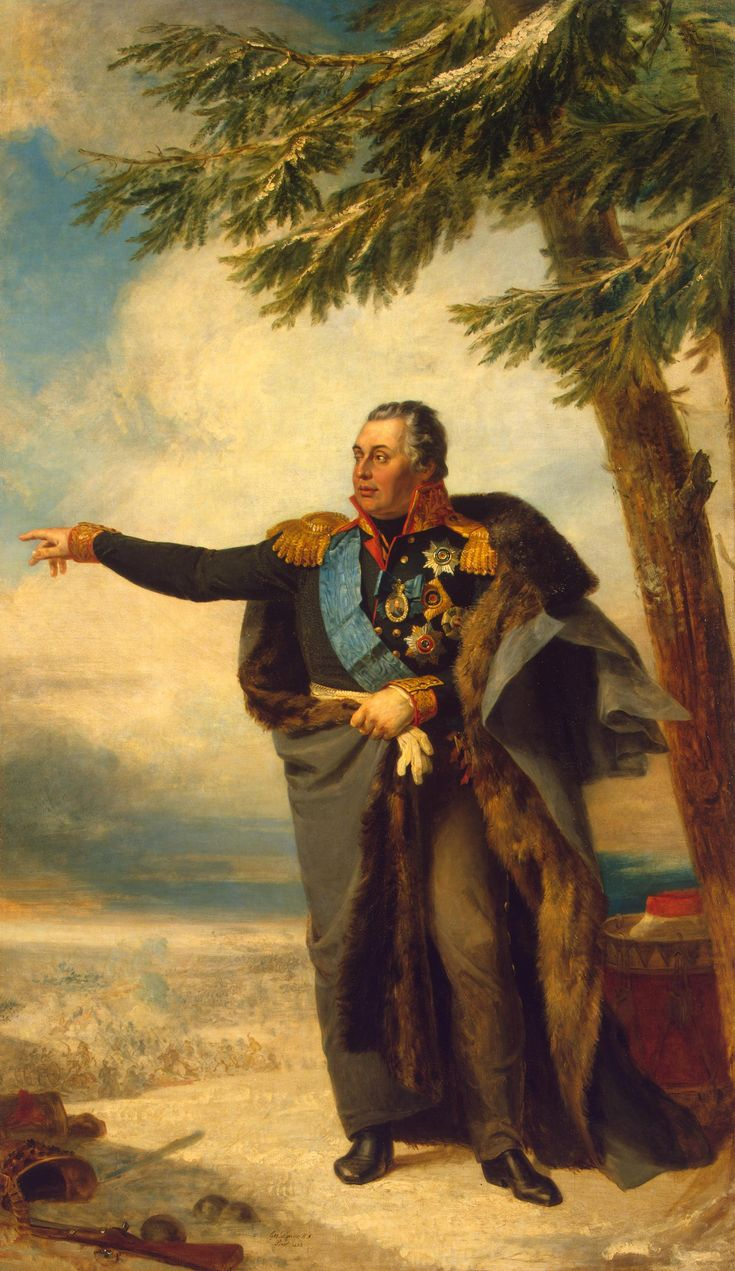Mikhail Kutuzov, Field Martial and General of the Russian army until the defeat of Napoleon