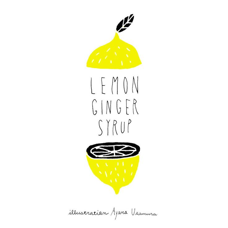 LEMON GINGER SIRUP
