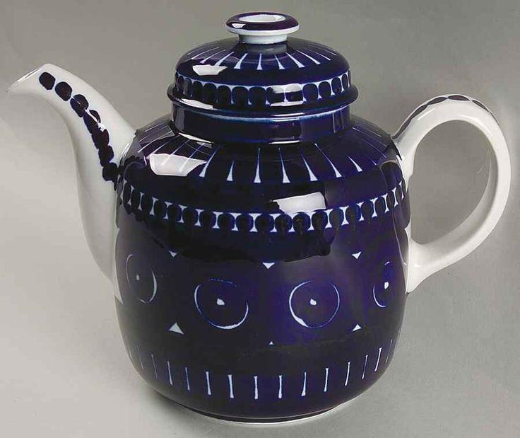 Arabia Of Finland VALENCIA Coffee Pot 3516546 #ArabiaOfFinland