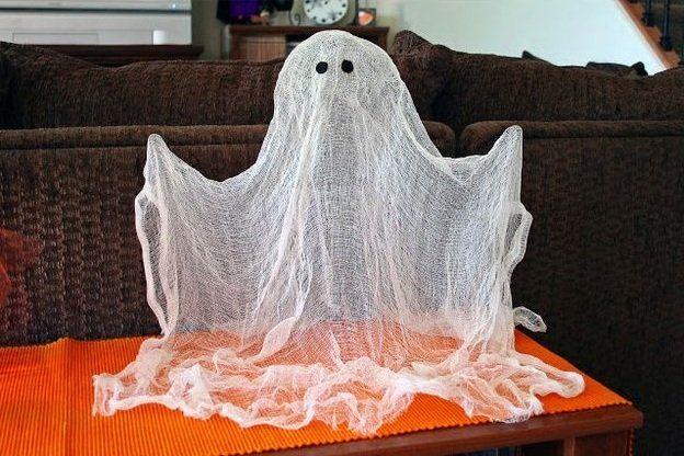 Maak de kinderen helemaal gek met die zelfgemaakt spookje voor in huis!(HALLOWEEN 2015)