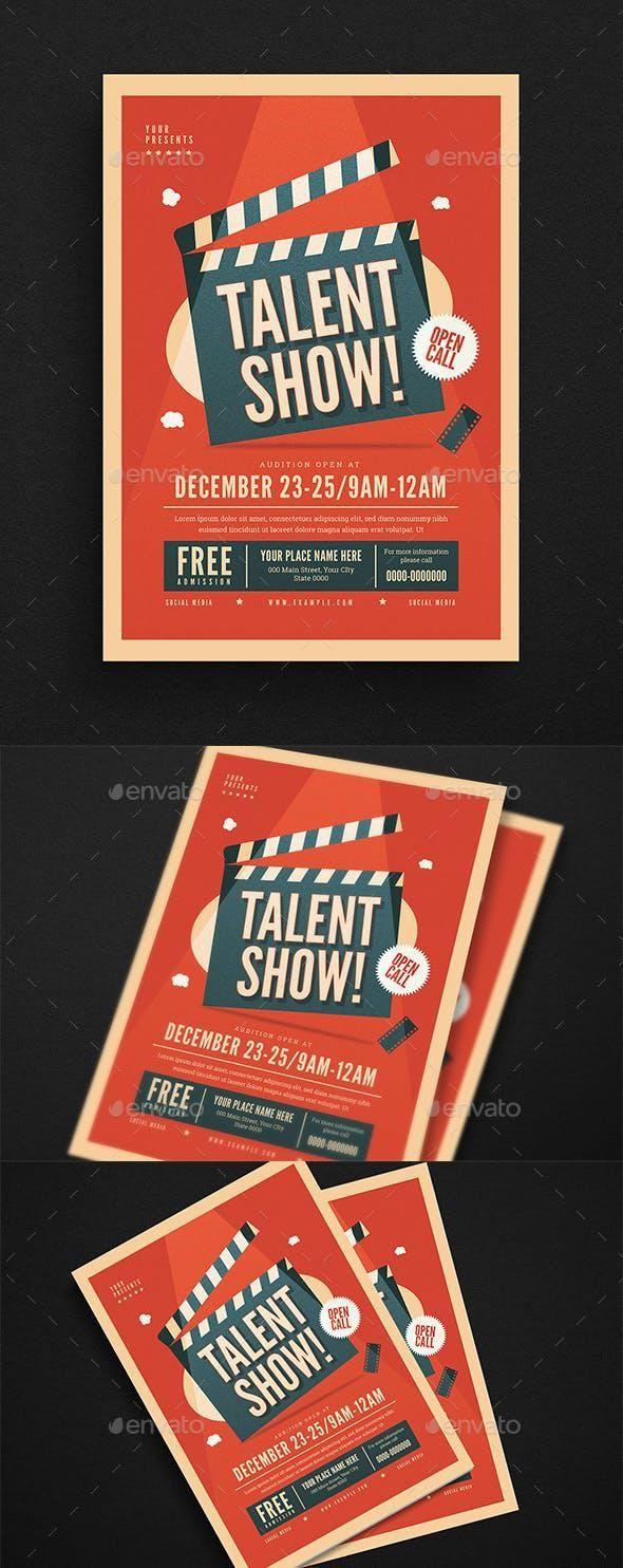 Talent Show Flyer Talent Show Flyer Template Free Business Card Templates Free talent show flyer template