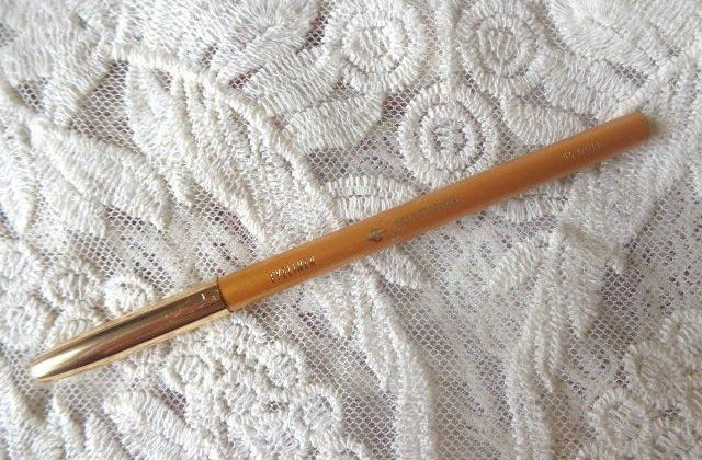 Jordana, Eyeliner Pencil, Gold, review on the blog