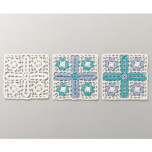 Kai lace carrying a wind of inspiration Blue from Turkey tile | Felissimo