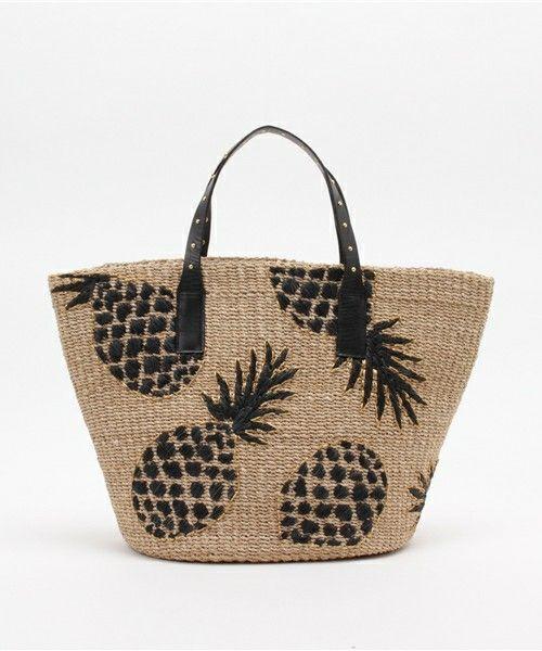 MuseR パイナップルカゴBAG(かごバッグ)|IENA(イエナ)のファッション通販 - ZOZOTOWN