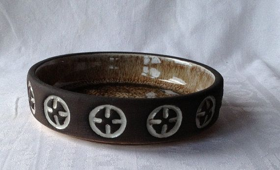 Danish Frank keramik dish by Emeliemaccie on Etsy, $25.00
