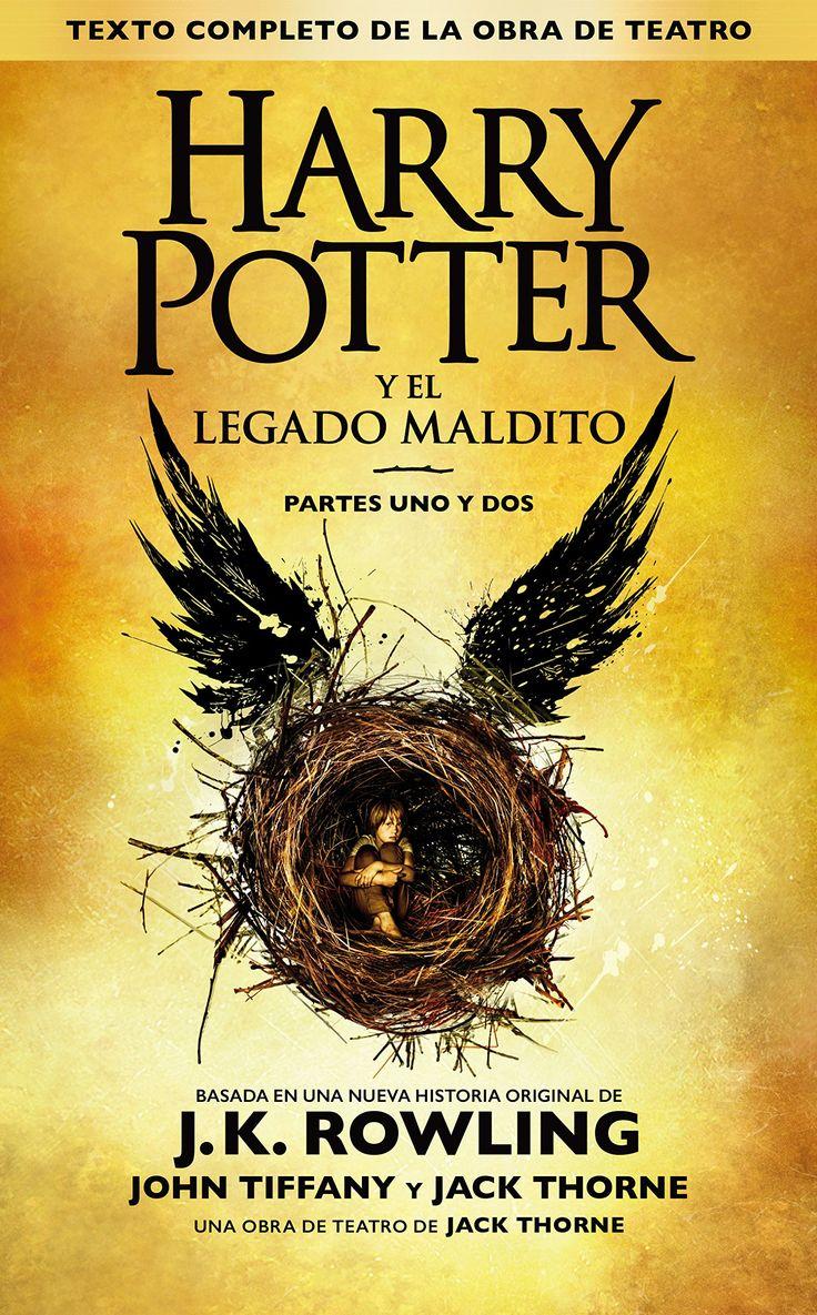 Harry Potter y el Legado Maldito - J.K. Rowling Portada