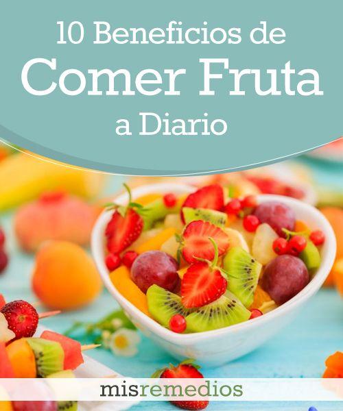 10 #Beneficios de #Comer #Fruta a Diario que te Encantará Conocer | Mis Remedios #HábitosSaludables