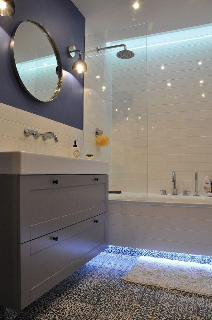 nowoczesna łazienka, mozaika