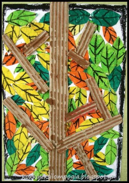 κόκκινη ξυλομπογιά: φθινοπωρινα φύλλα!