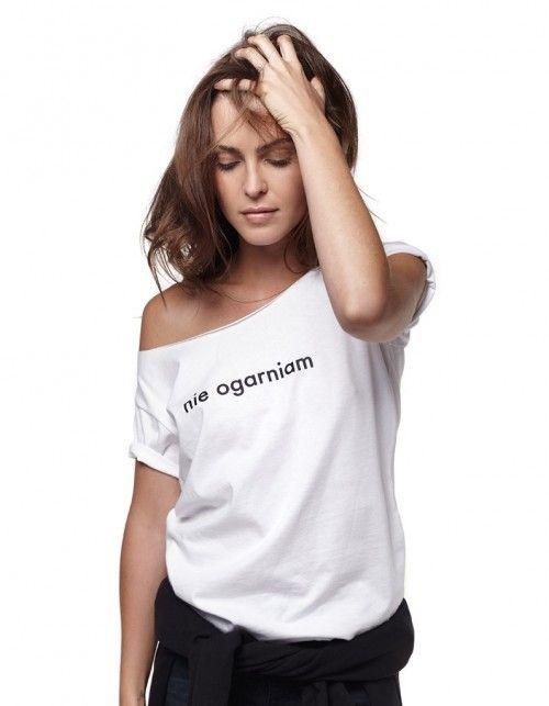 T-shirt NIE OGARNIAM
