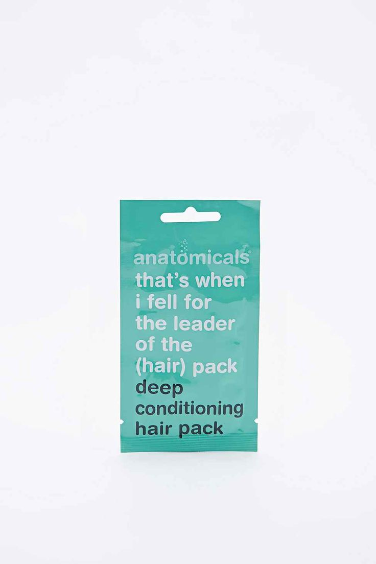 Anatomicals Hair Conditioning Pack   Formulated for popular and effective results, this pack is constructed with deep conditioning lotion to help smoothen and nourish your locks.