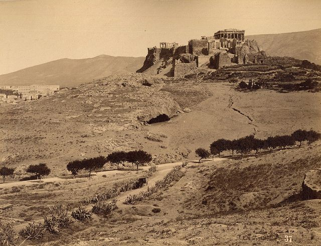 The Acropolis - 1890