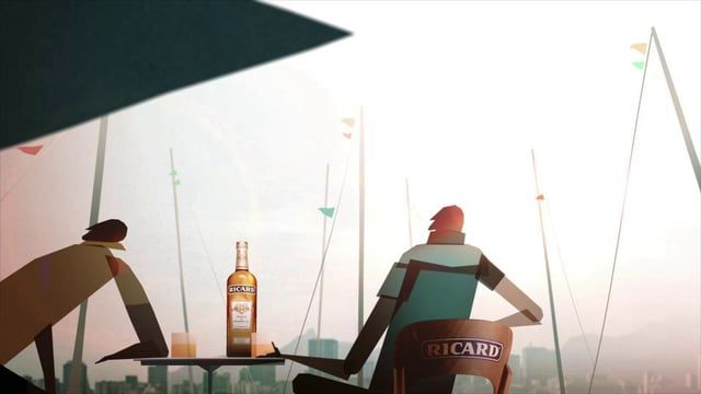 Pernod Ricard  asked us to work on the title sequence of the cultural TV show Pernod Ricard.TV Produced by Chez Eddy